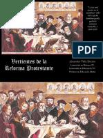 Vertientes de La Reforma Protestante