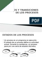 Estados y Transiciones de Los Procesos