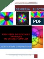 Funciones Elementales Complejas de Variablecompleja