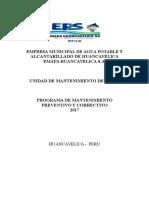 Programa de Mantenimiento 2017