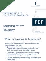 [MEU] Careers in Medicine