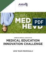 [AMA] MED EDU Innovation Challange