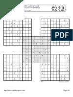 Samurai Sudokuqr4w3