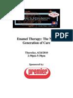 24CE09 Enamel Therapy THPM HO