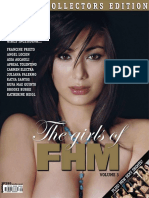 The Girls of FHM Philippines - Volume 3