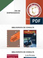 Presentación Formación de Empresarios Unidad 1