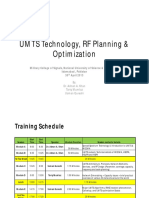 UMTS Technology, Planning _ Optimization_Training Material