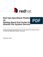 Red Hat OpenStack Platform-10-NetApp Back End Guide for the Shared File System Service-En-US