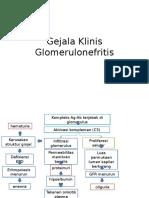Gejala Klinis Glomerulonefritis