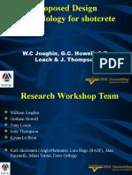 Design Methodology for Shorcrete