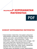 Power Point Ruang Lingkup Keperawatan Maternitas