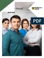 Raport Anual Raiffeisen Bank 2016