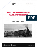 Rail Transportation Past Present Yr 3 History