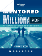 Mentored by a Millionare Workbook - Steven Scott (Master Strategies of the Rich) (eBook)