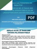 Materi Workshop Pengawasan Dan Pengendalian Ptsp 1