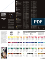 Liquitex Color Chart Heavy Body
