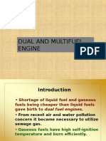 Dual Fuel and Multi-fuel Engines