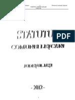 Statut Letcani Actualizat 2012 (1)