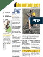 September 2009 Mountaineers Newsletter