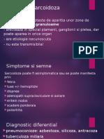 prezentare  boala sarcoidoza