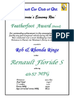 Feather Foot Award Petrol RobRhondaRingeRSAE10