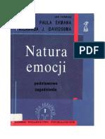 Ekman  P, Davidson R. J -  Natura emocji - podstawowe zagadnienia.pdf