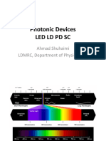 Photonic Devices - LED LD PD SC