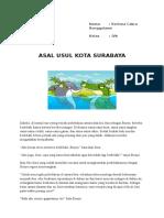 Asal Usul Kota Surabaya