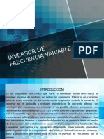 inversor de frecuencia variable
