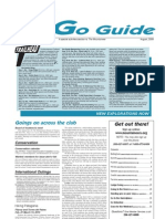 August 2009 Go Guide Newsletter The Mountaineers