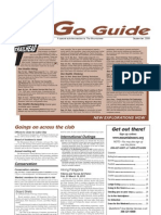 September 2009 Go Guide Newsletter The Mountaineers