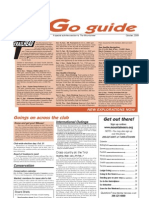 October 2009 Go Guide Newsletter The Mountaineers