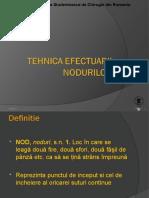 Tehnica efectuarii nodurilor.ppt