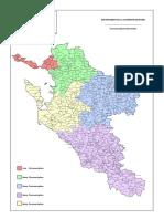 Carte Des Circonscriptions de Charente-Maritime