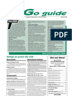 January 2010 Go Guide Newsletter The Mountaineers