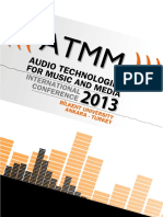 ATMM 2013 Proceedings
