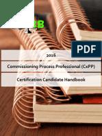 NEBB CxPP Candidate Handbook