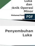 4b. Penyembuhan Luka Dan Tehnik Operasi Minor