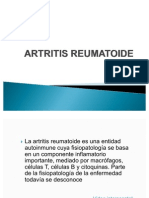 Tratamiento de La Artritis Reumatoide