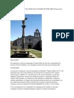 Monasterio de Santa Maria de Aciveiro en Forcarey