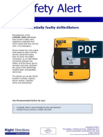 45 Right Directions Safety Alert-Defibrillators May 2017