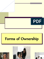 3rd Chapter Forms of Ownership