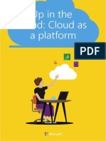 Windows Enterprise Azure - Up in the Cloud. Cloud as a platform