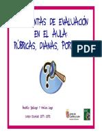 Herramientas de Evaluación- Dianas, Rúbricas y Portfolio Actualizado- Con Logo CREI CyL
