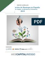 Financiación de Start Ups en España - 2015