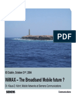 WiMAX-The Broadband Mobile Future-Presentation(2)