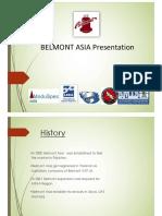 Belmont Presentation 2017