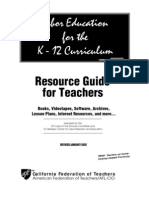 Labor Education for the K-12 Curriculum
