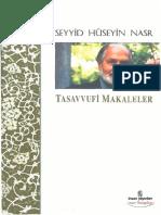 Seyyid Hüseyin Nasr - Tasavvufi Makaleler