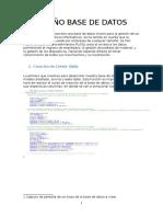 Documentacion Diseño Base de Datos_mod